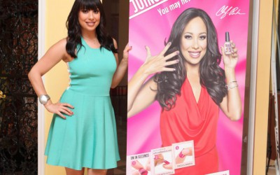 THE DISH WITH DDR: Cheryl Burke, Salsa and Nails!