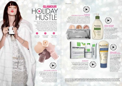 Glamour Holiday Hustle