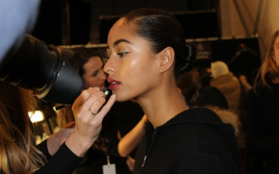 NYFW: Naeem Khan Backstage Beauty