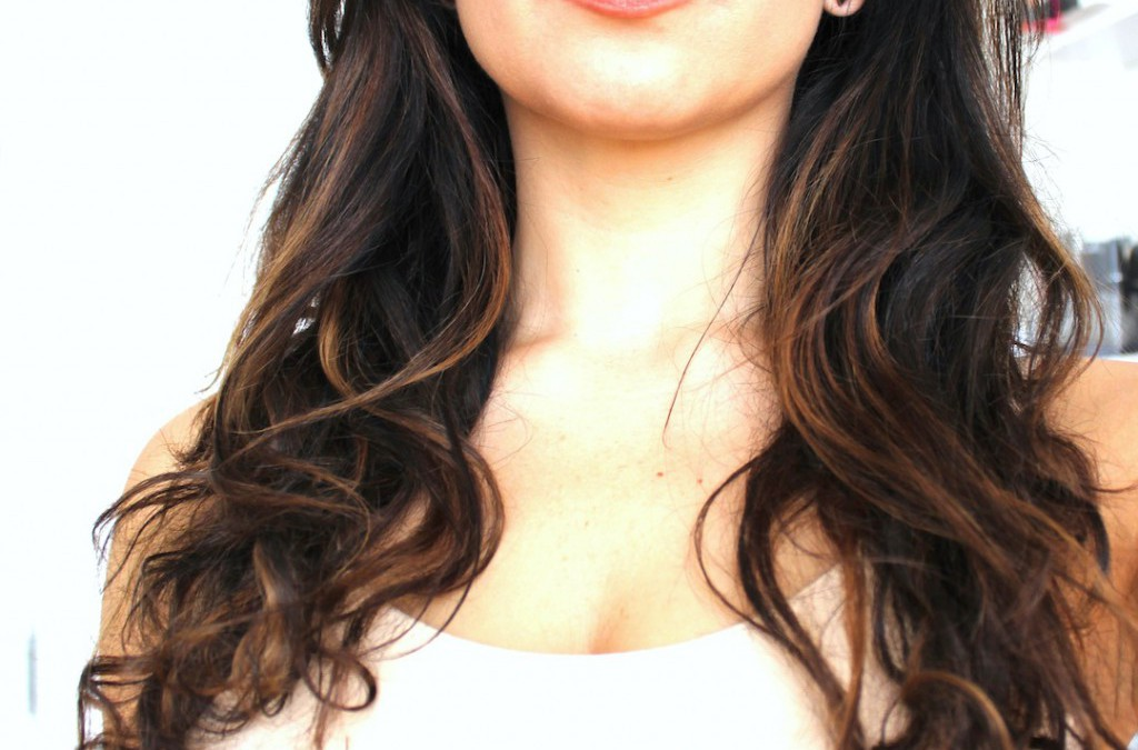 Diva does highlights underlights peekaboo lights for Adiva beauty salon