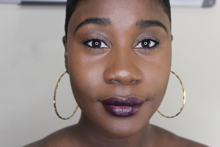 internDiva: Simple Vampy Fall Makeup ft. Va Va Violet