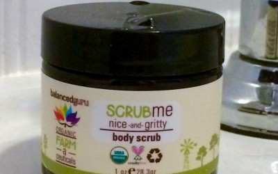 Review: Balanced Guru Scrub Me Nice and Gritty Body Scrub
