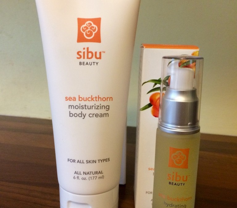 Bare it All with SIBU Beauty Sea Buckthorn Hydrating Serum & Sea Buckthorn Body Cream