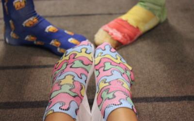 UNISEXXXY: Living Royal Statement Socks