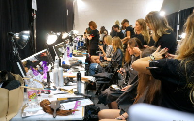NYFW: Backstage Beauty with Joico and MAC Cosmetics for Rebecca Vallance SS'16