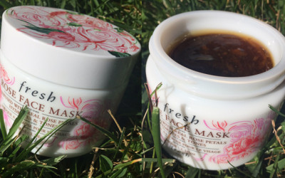 A menacing little rose-infused face mask.