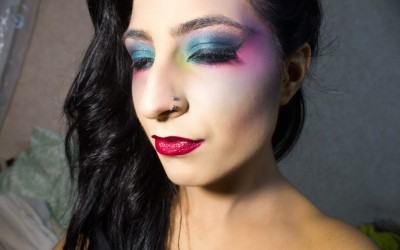 Beauty Reinterpreted: Ursula Halloween Makeup