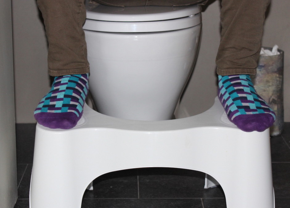 DIVA DISH: Squatty Potty. Shit's going down.