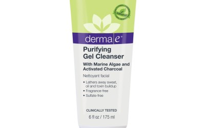 Detox with dermaE Purifying Gel Cleanser