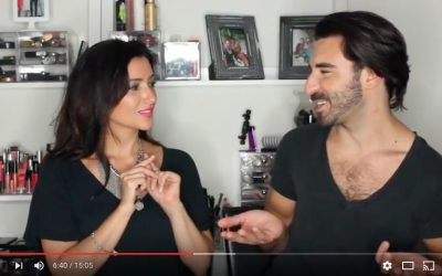 BEAUTY WITH BEVERAGES: What do I use that brush for? [VIDEO]