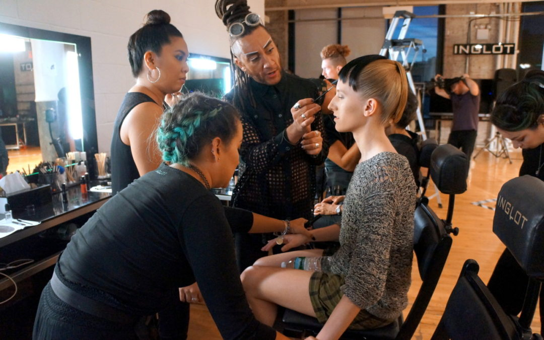 NYFW: Backstage Beauty at Cristina Ruales SS'17 with Inglot